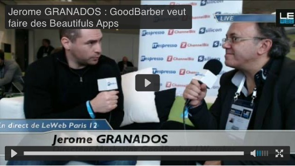 Goodbarber lance Beautiful Apps