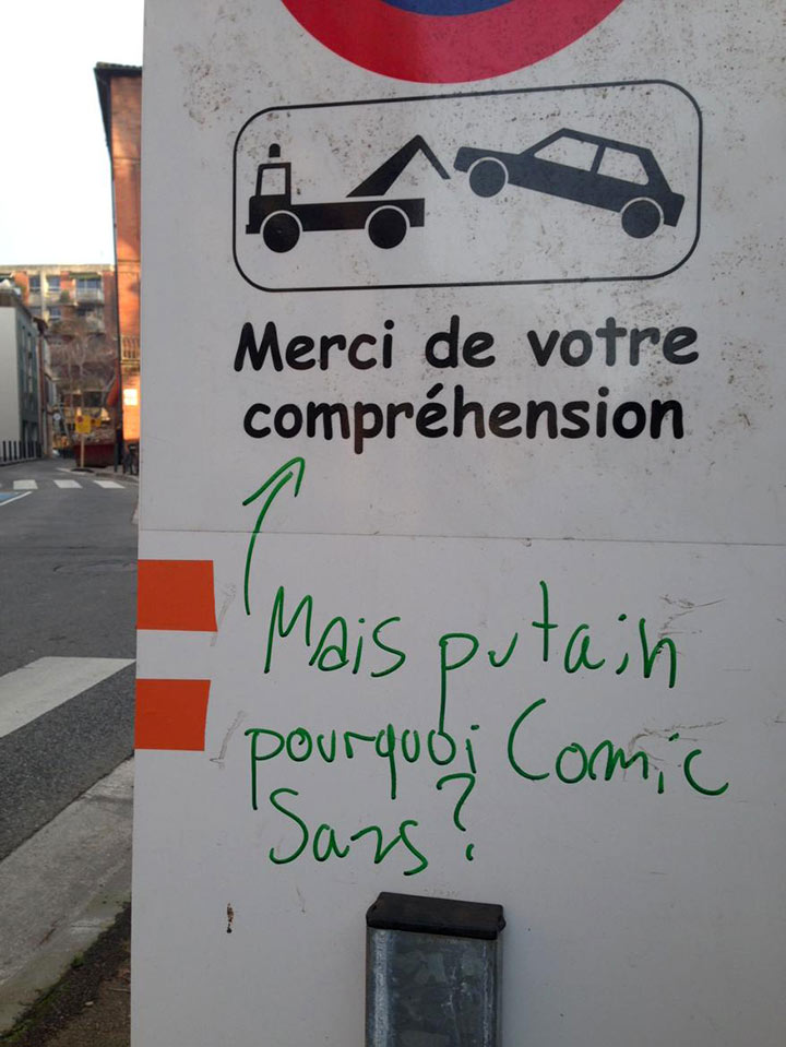 "Le cas ""Comic Sans MS"""
