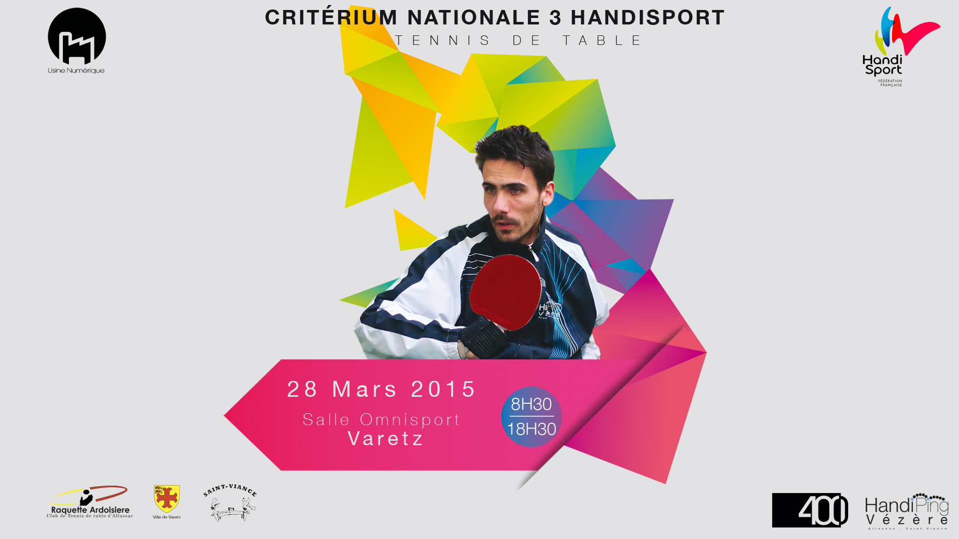 Critérium National Tennis de Table Handisport