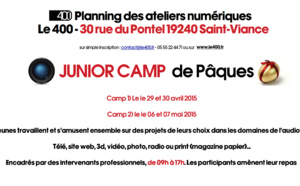 Junior Camp de Pâques 2015